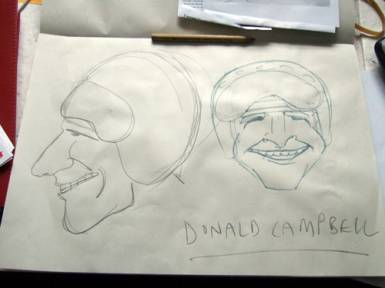 Donald+Campbell+mascot+in+progress